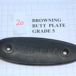 Browning-Butt-Plate-RifleShotgun-Not-Weapon-Part-Grade-5-Stock-Code-20-253825007280