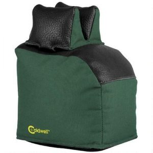 Caldwell-Magnum-Extended-Rear-Bag-Unfilled-LeatherPolyester-Green-158002-111921326260