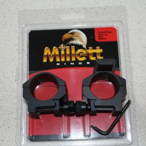 Millett-Scope-Rings-30mm-Low-Matte-with-Top-Rail-DT00716-Bolt-action-Rifle-252059677480