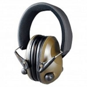 Night-Prowler-Electronic-Ear-Muffs-Green-Low-Profile-Low-Sound-Amplifying-111784136850