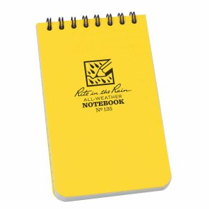 Rite-in-the-Rain-Top-Spiral-3-X-5-Polydura-Notebook-Universal-Yellow-135-114511866070