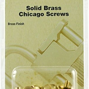 Uncle-Mikes-Solid-Brass-Chicago-Screws-Brass-Finish-2509-0-24-Pack-253578403530