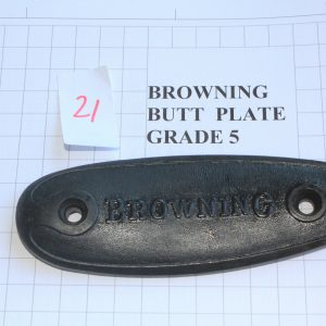 Browning-Butt-Plate-RifleShotgun-Not-Weapon-Part-Grade-5-Stock-Code-21-113213579091