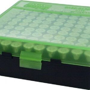 MTM-Ammo-Box-Small-Pistol-100-Round-Black-and-Green-Fits-9mm-P-100-9-16T-253403766761