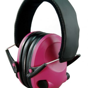 Night-Prowler-Electronic-Ear-Muffs-Fluoro-Pink-Low-Profile-Low-Sound-112099612511