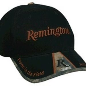 Remington-Cap-Black-with-Camo-Peak-Genuine-Remington-Product-RM01N-254628297711