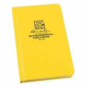Rite-in-the-Rain-Bound-Hard-Cover-4375-x-725-Fabrikoid-Book-Environmental-Yell-254775008712