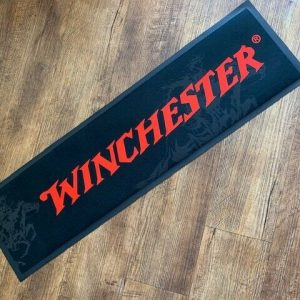 Winchester-Bar-Mat-Horse-and-Rider-Genuine-Winchester-product-NEW-DESIGN-253847293192