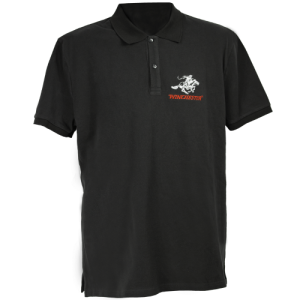Winchester-Mens-Polo-Shirt-Short-Sleeve-Charcoal-Grey-Large-254568858622