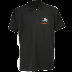 Winchester-Mens-Polo-Shirt-Short-Sleeve-Charcoal-Grey-Medium-114186242782