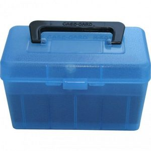 MTM-Ammo-Box-Deluxe-50-Round-Small-Rifle-with-Handle-Blue-See-Calibre-H50-RS-24-111746792323