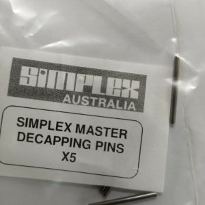 SIMPLEX-Master-decapping-Pins-5-Pack-2069000-Tracked-Post-114108772043