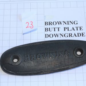 Browning-Butt-Plate-RifleShotgun-Not-Weapon-Part-Down-Grade-5-Stock-Code-23-253825007284