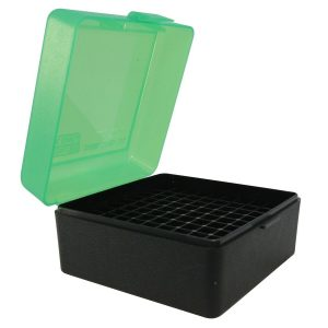 MTM-Ammo-Box-Small-Rifle-100-Round-Black-And-Green-17-222-223-RS-100-16T-253403854624