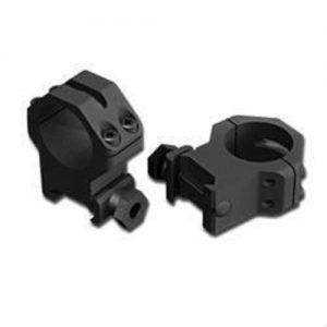 Weaver-Skeleton-Rings-4-Hole-Medium-Matte-Black-for-25mm-scope-48360-254063840704