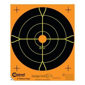 Caldwell-Orange-Peel-Targets-8-Inch-Bullseye-Splatter-Style-10-pack-810894-111668636805