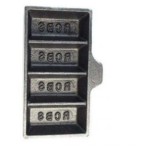 RCBS-Ingot-Mould-4-Cavity-without-Handle-Gold-Silver-Alloy-80005-9kg-113756546765