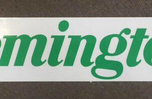 Remington-Car-Window-Decal-14-x-75cm-Genuine-Remington-Product-111752975235