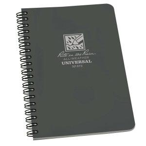 Rite-in-the-Rain-Side-Spiral-4625-x-7-Polydura-Notebook-Universal-Grey-873-254775008715