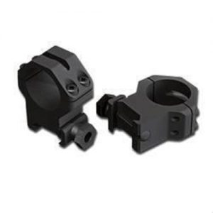 Weaver-Skeleton-RIngs-4-Hole-High-Matte-Black-for-25mm-Scope-48361-252968217015