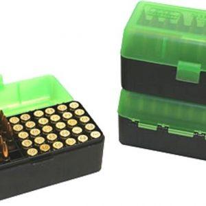 MTM-Ammo-Box-Large-Rifle-50-Round-Black-Green-Fits-270-30-06-See-List-RL-50-16T-253403939286