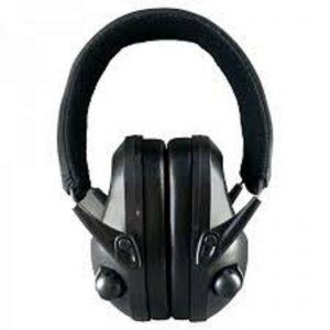 Night-Prowler-Electronic-Ear-Muffs-Black-Low-Profile-Low-Sound-Amplifying-253324237456