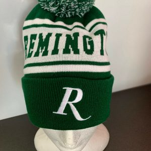Remington-Beanie-Green-and-White-with-Pom-Pom-Genuine-Remington-Product-RM19GREE-114281486136