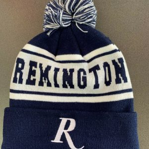Remington-Beanie-Navy-and-White-with-Pom-Pom-Genuine-Remington-Product-RM19BLUE-254638493087