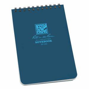Rite-in-the-Rain-Top-Spiral-4-X-6-Polydura-Notebook-Universal-Blue-246-114511866057