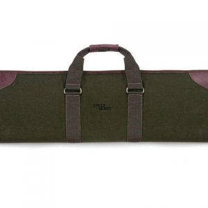 UNCLE-MIKES-CANVAS-OVER-UNDER-SHOTGUN-CASE-Green-with-Brown-Trim-33-inch-52082-113385179107