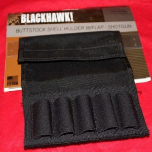 Blackhawk-Ammo-Holder-with-Flap-For-Shotgun-Stock-251472387418