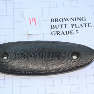 Browning-Butt-Plate-RifleShotgun-Not-Weapon-Part-Grade-5-Stock-Code-19-253825007288