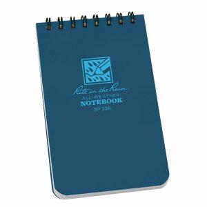 Rite-in-the-Rain-Top-Spiral-3-X-5-Polydura-Notebook-Universal-Blue-235-254775008718