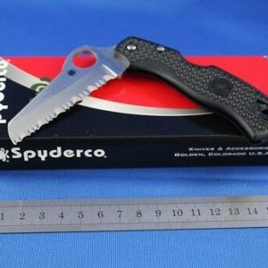 Spyderco-Rescue-79mm-Lightweight-Black-Serrated-Blade-YSC45SBK-252255505048