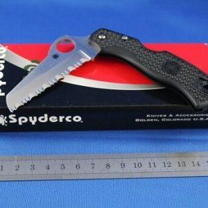 Spyderco-Rescue-79mm-Lightweight-Black-Serrated-Blade-YSC45SBK-252255505048