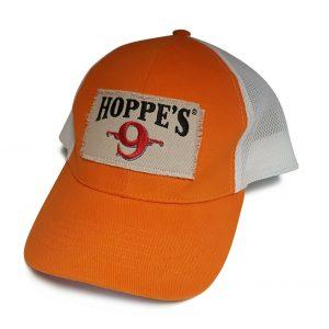 Hoppes-Cap-Baseball-Style-Orange-and-White-with-Mesh-Back-254719313299