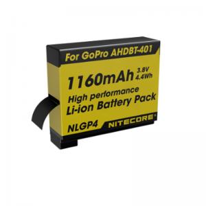 NITECORE-GO-PRO-HERO-4-1160MAH-BATTERY-PACK-NLGP4-254653045609