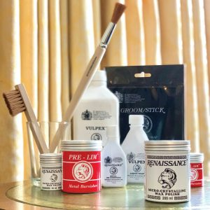Renaissance-Wax-Polish-and-Pre-lim-Metal-cleaner-pack-each-200ml-254661424279