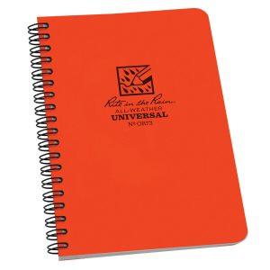 Rite-in-the-Rain-Side-Spiral-4625-x-7-Polydura-Notebook-Universal-Orange-OR73-114511866049